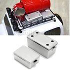 2Pcs Sliver 1/10 Rock Crawler Accessory Tool Box for 1/10 Axial SCX10 RC4WD D90