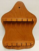 Wooden Vintage Spoon Rack Mexico Holds 12 Spoons
