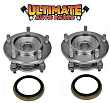 Front Wheel Bearing Hubs (Pair) Right & Left for 07-16 Toyota Tundra 4x4