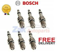 FOR BMW X5 3.0 E53 00-06 BOSCH SPARK PLUGS SET OF 6 *NEW*