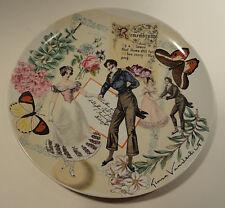 Gloria Vanderbilt Remembrance Collector Plate 1977