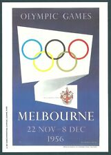 OLYMPIC GAMES ===MELBOURNE 1956--------- MARS POSTCARD