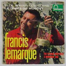 Francis Lemarque 45 Tours Philips Serge Gainsbourg 1960
