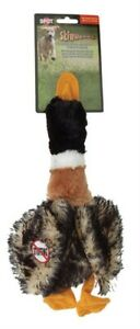 Skinneeez 8121 Multicolored Mallard Duck Plush Toy 24 L in. for Large Dogs