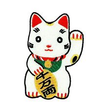 Patch backpack maneki neko lucky chinese cat fortune kitty japanese luck
