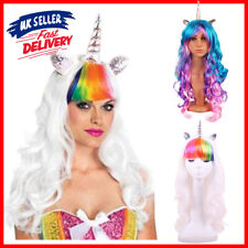 Widmann Women Unicorn Wig With Ears And Horn Character Wig Fancy Dress Accessory