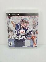 Madden NFL 17 (Sony PlayStation 3, 2016) No Manual Tested and Works