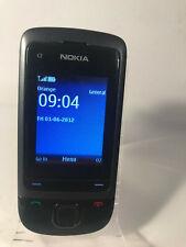 Nokia C2-05 Touch & Type - Black (Unlocked) Mobile Phone