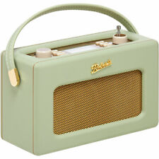 Roberts Revival Rd70 Leaf Green Retro Portable DAB Radio With Bluetooth