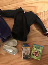 Genuine American Girl Clothing Lot Fitness Ballet Gymnastics Fitness Book