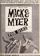 16MM TV - MACK & MYER FOR HIRE - WACKEY WIZARDRY - 1963