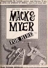 16MM TV - MACK & MYER FOR HIRE - WACKEY WIZARDRY - 1963