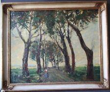 Ölbild Landschaftsmalerei Gemälde Bild signiert Kükhoven Kukkoven KUKHOVEN
