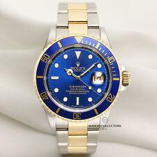 Rolex Submariner pre-Cerámica 16613 Acero Y Oro