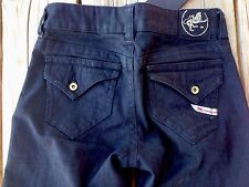 Parasuco Womens Jeans Flare, Stretch Dark Wash Low Rise $120 NWT Size 25
