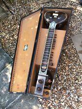More details for vintage rikhi ram indian sitar musical instrumemt and carry case