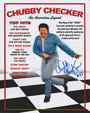 Chubby Checker HAND SIGNED 8x10 Photo, Autograph, The Twist, Limbo Rock