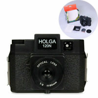 Holga 120N Medium Format Film Camera Black Vintage Japan Limited Edition Lomo
