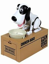 The World's Cutest Dog Coin Bank Money Box Kids gift Cute Choken Bako Coin Eat