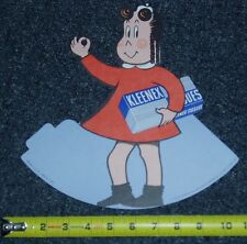 1950 LITTLE LULU KLEENEX COUNTER DISPLAY  DIE CUT STANDUP
