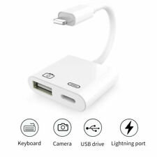 Lightning to Camera USB Female OTG Adapter Charging Cable for iPhone 11 /Xs Max
