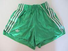 Short ADIDAS vintage nylon VENTEX vert années 80 sport collection 95 L D 52 I 5