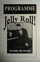 JELLY ROLL!  THE MUSIC AND THE MAN - PROGRAM - Kaufman Theater 1994