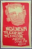 MENOMENA 2005 Gig POSTER Portland Oregon Concert