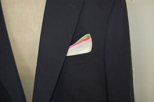 PURE LINEN POCKET SQUARE NEW