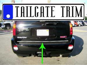 GMC ENVOY 02-05 2006 07 08 09 Chrome Tailgate Trunk Trim Molding