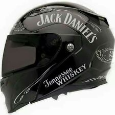 12 stickers autocollant old Jack Daniel kit sticker customisation casque moto