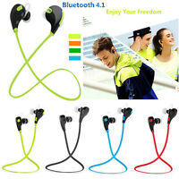 QCY QY7 Wireless Bluetooth 4.1 Stereo Sport Earphone Headset With MIC Headphone