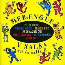 Merengue y Salsa en la calle 8 Victor Roque, Raffie Rosa, chein Gracia, Hansel e