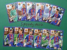 Panini Adrenalyn 2018 FIFA 365 all 12 Team Mate Barcelona Messi Suarez Umtiti