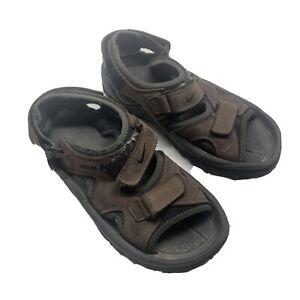 Nike Mens 10 Golf Sports Sandals Brown Hook And Loop Adjustable Strap 303134-231