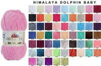 4 Skeins !!! Himalaya Dolphin Baby - Knitting - Yarn - Wool (choose colors tex)