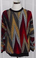 Vintage Tundra Canada Men's L Colorful Crewneck Sweater Size Large
