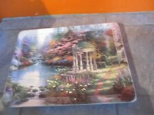 1999 Thomas Kinkade Nature's Retreats The Garden Of Prayer 1st in Series Plate