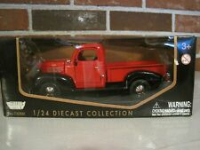 2004 MOTORMAX 1941 PLYMOUTH TRUCK 1:24 SCALE DIE CAST--NEW