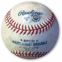 Zack Greinke Game Used Baseball 4/5/13 Dodgers  Sanchez Foul Ball EK217114