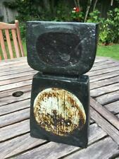 More details for rare early troika large double base by benny sirota vase st ives 1960's  34cms