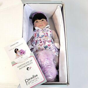"""Paradise Galleries Reborn Toddler Doll - Children's Day, Full Vinyl Limbs, 16"""""""