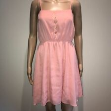Short Machine Washable Dresses for Women with Buttons