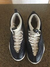 Air Jordan Retro 15 XV Obsidian Navy Blue White Mens size 12 2017 release