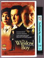 THE WINSLOW BOY Nigel Hawthorne  VHS VIDEO TAPE