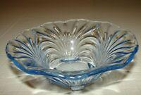 Cambridge Glass Personal Salad Bowl Caprice Moonlight Blue