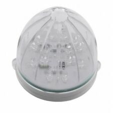 UNITED PACIFIC 39951B - 19 LED Bullet Style Grakon 1000 Cab Light - Amber LED/Cl
