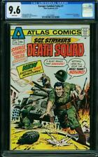 SAVAGE COMBAT TALES #1 CGC 9.6 WHITE PAGES 1ST APP OF SGT. STRYKER #0321338001