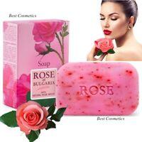 Natural Cream Women Soap Rose of Bulgaria Rose Oil & Glycerin & Coconut 100 g