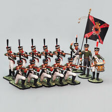 Tin soldier, Fragment of a combat formation - square 54 mm